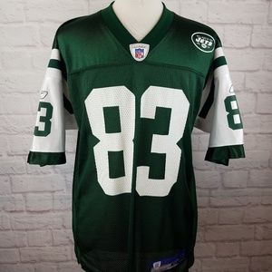 Reebok On Field New York Jets Santana Moss Jersey